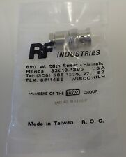 RF Ind-RFB-1101-1P BNC MALE conn. lot of 3