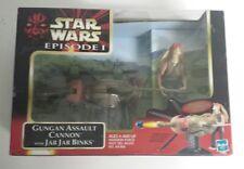 Star Wars Gungan Assault Cannon with Jar Jar Binks NEW - Free Shipping