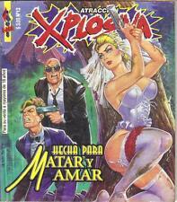 """ATRACCION EXPLOSIVA """"HECHA PARA MATAR Y AMAR"""" mexican comic humor SEXY GIRLS #12"""
