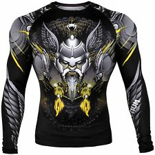 VENUM VIKING LONG SLEEVE RASHGUARD - BLACK - SMALL