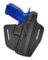B15 Lederholster Gürtelholster Holster für CZ Shadow 2 Schwarz VlaMiTex NEU
