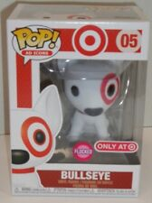 FUNKO POP Ad Icons #05 TARGET Exclusive Flocked BULLSEYE Red Collar MIMB