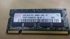 Hynix 2 GB 2Rx8 PC2-6400S-666-12 Memory (HYMP125S64CP8S6ABC)