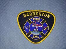 Barberton Fire Patch