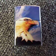 Bald Eagle Zippo Lighter Flames 2005 Smoking Accessories
