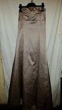 VINTAGE?WEDDING/BRIDESMAID DRESS STRAPLESS LILAC DEBUT NETTED UNDER SILKY SZ 10