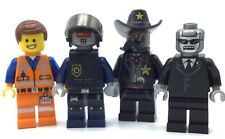 12 The Lego Movie Minifigs Benny Bad Cop Larry Wyldstyle Emmet Figure Lot