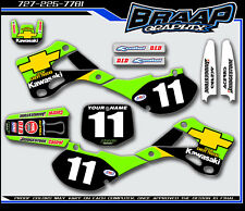 KAWASAKI KX125-KX250 1999 2000 2001 2002 GRAPHICS  DECAL KIT MOTOCROSS CHEVY