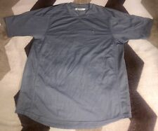 Vintage Nike Gray Tag Workout Shirt Mens Sz L Activewear