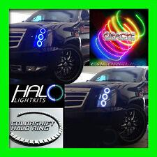 2007-2014 ORACLE CADILLAC ESCALADE COLORSHIFT LED LIGHT HEADLIGHT HALO KIT