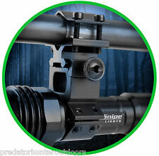 "NightSnipe Light Barrel Mount Bracket 1"" Fit For Laser /Scope/Torch/Gun/Light"