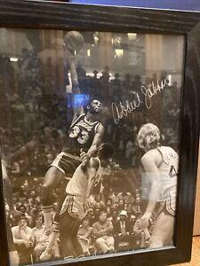 Kareem Abdul Jabbar Autographed Photo 11x14 COA Lakers HOF