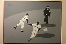 Ted Williams Last Home Run, Mike Schacht Pencil Signed Serigraph, A/P #1/8, 1993