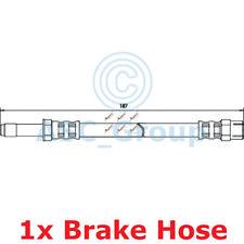 Apec BRAKING 187mm Scheibe Bremssattel Flexibel Gummischlauch Hos3204