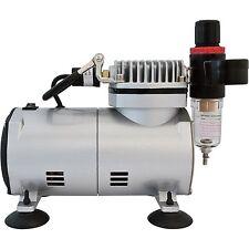 Airbrush Mini Air-Compressor (Black)