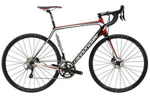 NEW 2015 Cannondale Synapse Hi Mod Carbon Disc 54cm Shimano Ultegra--MUST SEE