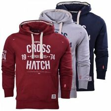 Crosshatch Hooded Regular Hoodies & Sweats for Men