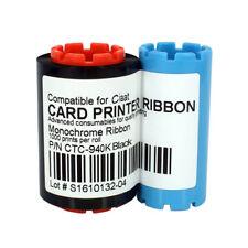 New Ribbon for Ciaat CTC-940 K Card Printer Black 1000 Image Print Card
