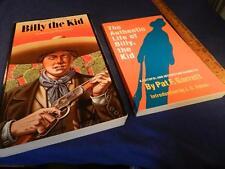 2 BILLY THE KID BOOKS THE AUTHENTIC LIFE OF BILL, THE KID P. GARRETT & BTK UTLEY