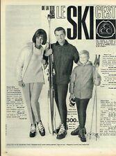 F- Publicité Advertising 1962 Les Vetements de ski CCC