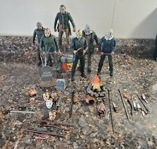 NECA Friday the 13th Jason figure Lot Of 6!!!
