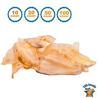 Cow Ears for Dogs 100% Natural Dog Chews Beef Ear one-ingredient Treats for Dogs
