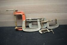 Vintage Paulcall Unbreakable G Clamps Australian Made Old Tools