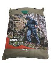 Frogg Toggs Ultralite 2 Men's Rain Suit Jacket & Pants XL/2XL Khaki Backpacking