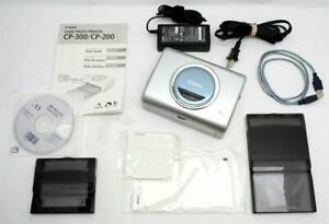 Clean Canon CP-300 Printer With Paper #31507