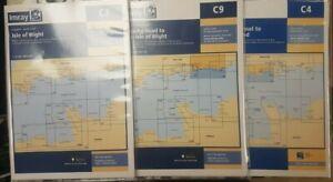 Marine Imray Charts - C3 ISLE OF WIGHT - BEACHY HEAD C9 - NEEDLES C4