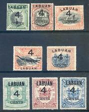 North Borneo - Labuan 1899 4c surcharges mint (2016/05/25#08)
