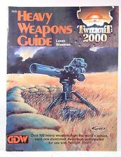 Heavy Weapons Guide Twilight: 2000 RPG Loren Wiseman Twilight: 2000 GDW
