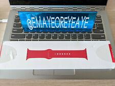 GENUINE Apple Watch Product Red 38mm 40mm Sport Band OEM BNIB MU9M2AM/A