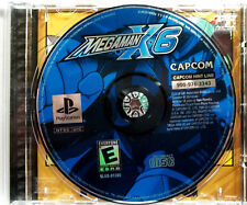 Mega Man X6 (PS1) Game & Back Art - Clean,Tested & Fast Shipping