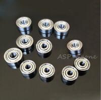 10pcs 695ZZ 5x13x4 mm Metal Double Shielded Ball Bearing Bearings 695z 5*13*4 mm
