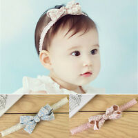HOT SALE Cute Kids Girl Baby Toddler Bowknot Headband Hair Band Accessories Gift
