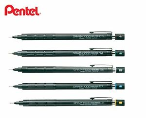 Pentel GRAPH 1000 0.3 0.5 0.7 0.9mm Mechanical Pencil Choose from 5 Type PG100