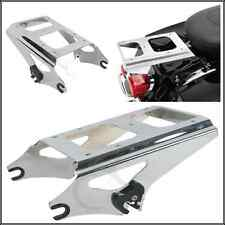 Detachable Two Up Tour Pak Pack Mounting Luggage Rack For Harley Touring 09-13