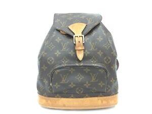 """Auth Louis Vuitton Montsouris MM Backpack Shoulder bag 1F230050n"""""""