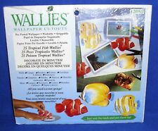 25 Tropical Fish WALLIES Wallpaper Cutouts 12088