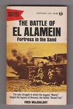 THE BATTLE OF EL ALAMEIN, Fortress in the Sand by Majdalany  Vintage 1965 PB