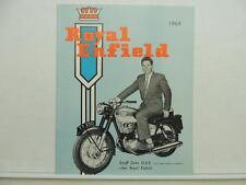 1964 Royal Enfield Motorcycle Brochure TT 250 Bullet Continental L9655
