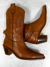 Bottes Santiags Boots Western Cowboystiefel Catalan Stivali cuir leather 38