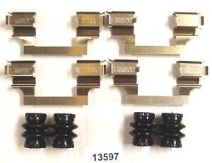 Disc Brake Hardware Kit-HSE Front,Rear Better Brake 13597K