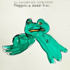 DIE GOLDENEN ZITRONEN - FLOGGING A DEAD FROG  VINYL LP + DOWNLOAD NEU