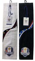 Ryder Cup Tri Fold Golf Towel - RRP€19 - Le Golf National 2018 Paris France