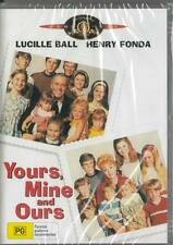 YOURS, MINE AND OURS - LUCILLE BALL - NEW & SEALED DVD - FREE LOCAL POST