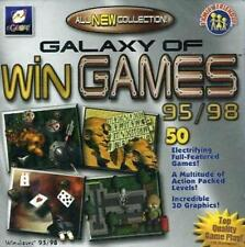 Egames Galaxy of Win Games PC NEW & SEALED Windows 95/98 50 games
