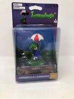 Lemmings -Umbrella Lemmings  Totaku Collection Figure #17 Collectible