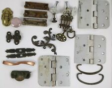 Vintage Hardware Large Mixed Lot Rimlock Keepers Hinges MORE